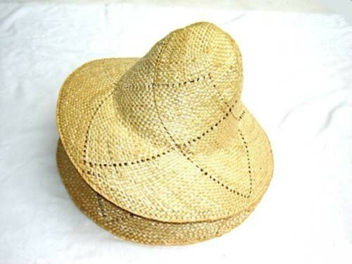 2x Hutstumpen Strohstumpen Stumpen Weizenstroh naturfarben Damenstrohstumpe NEU