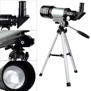 New 70mm Refractor Terrestrial+Astronomical Telescope,Tripod,Eyepiece Astronomer