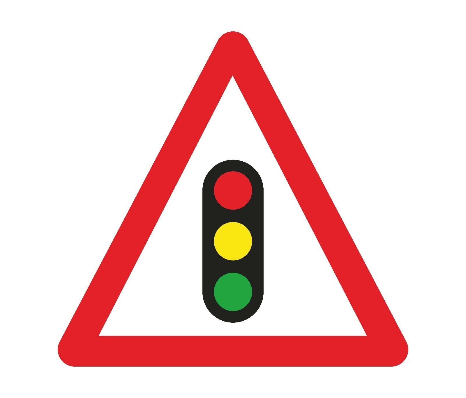 1x Traffic Lights Sticker