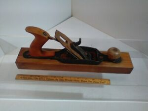 Antique-Bailey-Stanley-Wooden-Block-Wood-Plane-15-034