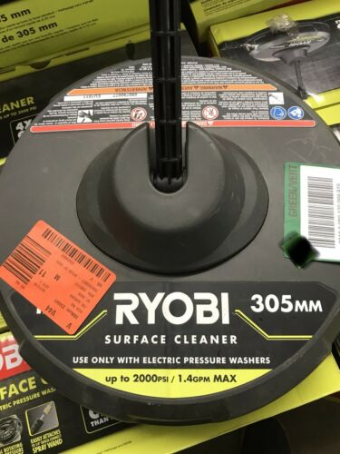 """Ryobi 12/"""" Surface Cleaner 1002-368-831 Electric pressure washers up to 2000 PSI"""