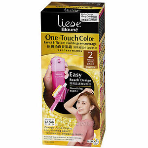 Kao Japan liese Blaune One Touch Foaming Hair Color Dying Kit ...