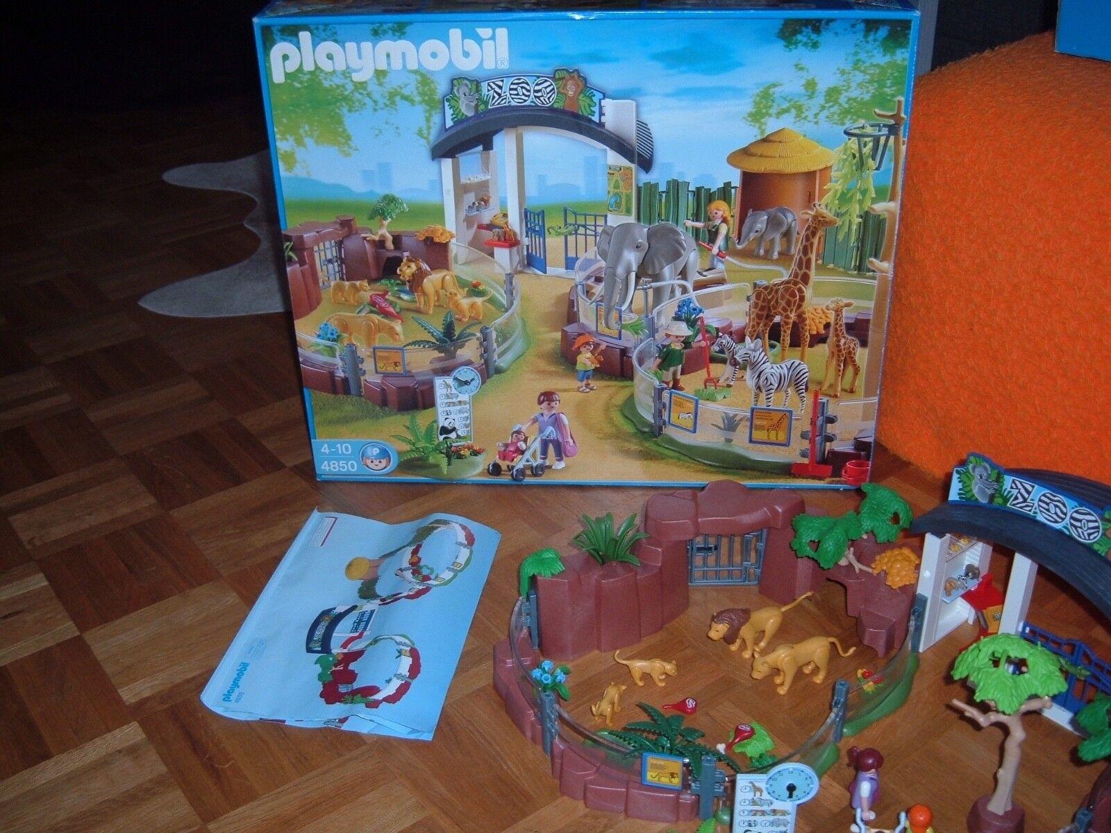 Playmobil 4850 Zoo wie neu in der OVP + Anleitung vollzählig