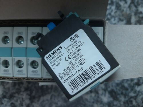1 NO contact SIEMENS 3RH1921-1CA10 front-side auxiliary switch