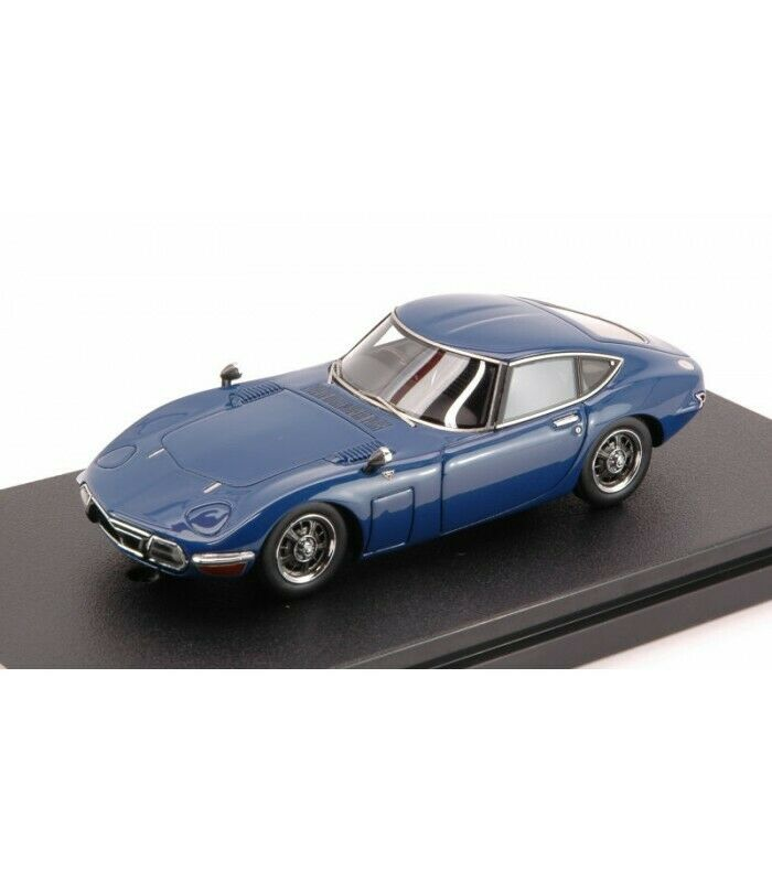 Toyota 2000 GT bluee CIRCUIT-No -- Wolf Museum 1 43