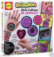 Shrinky Dinks Bake & Shape 3d Jewelry Make Bracelets Earrings And Rings 499w