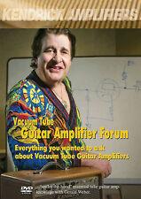 Gerald Weber Vacuum Tube Guitar Amplifier Forum Amp DVD NEW!