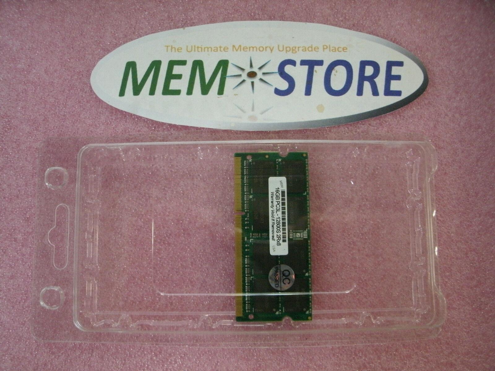 Single 16GB SODIMM 1.35V DDR3 1600MHz Dell Inspiron 13 i7359 7325 1x16GB