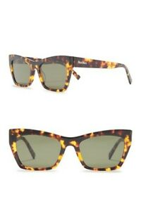 Max Mara Rectangle Sunglasses53mm
