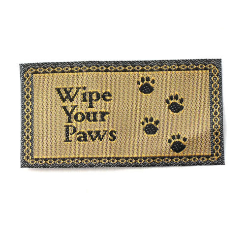 """Dolls House 5584 Floor Mat /""""Wipe Your Paws/"""" 1:12 for doll house NEW #"""