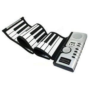 Image is loading 61-Keys-Digital-Midi-Electronic-Portable-Keyboard-Piano- 84f2d1697157a
