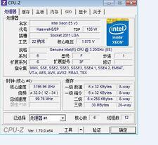 Intel Xeon E5-2643 V3 ES 3.2GHz 6C/12T 135W LGA2011-3 CPU Processor
