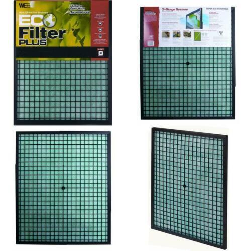 Filtro Web Eco Plus 16 x 20 x 1 Filtro dell/'aria e forno filtro lavabile riutilizzabile