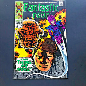 Fantastic-Four-78-Comic-Book-Very-Good-Condition-Complete