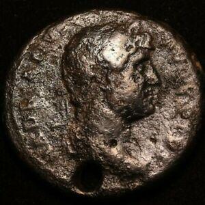 DOMITIAN-IMPERIAL-ROMAN-AUTINIANANUS-COIN-GOOD-CONDITION