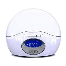NEW Lumie Body Clock Active 250 Dawn Simulator Alarm Clock with FM Radio, White