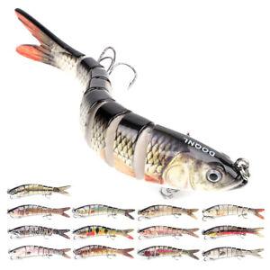 Multi Jointed Fishing Lures Sinking Wobblers Swimbait Crankbait Hard Bait Lure