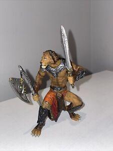 Papo-Lion Mutant figure PAPO: Fantasy World-modèle 38945-très bon état