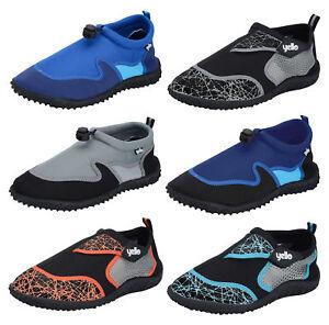 0ac0900250f4 Mens Boys Aqua Socks Beach Water Shoes Scuba Swim Surf Wetsuit Non ...