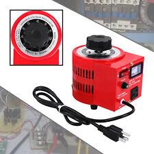 500w 110v Variac Transformer Variable 0 130v Ac Voltage Auto Regulator Metered