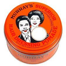 2 x Murray's Superior Hair Dressing Pomade 3oz