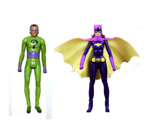 "DC Universe Batman 1966 Tv Series Riddler Batgirl 6/"" Loose Action Figure"