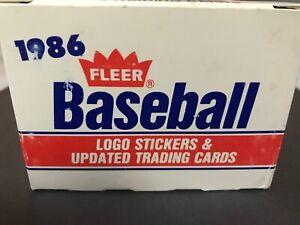 1986-Fleer-Baseball-Update-Traded-Complete-Set-Barry-Bonds-RC-Will-Clark-NM-MT