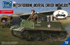 Riich Models 1/35 British Airborne Universal Carrier Mk.III & Welbike Mk.2 # 350