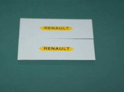 "DEC158 Décalcomanies pour Simca 1000 /""POLICE/""  CIJ 3.8"