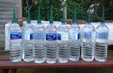 Set of 8 Garden Bottle Top Irrigation Spikes Water Seed Plant Garden Watering