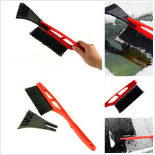 Car SUV Roof Windshield Front Hood Snow Removal Brush Ice Scraper Defroster Tool