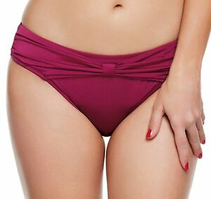 Panache Halle Gathered Pant Women's Bikini Cranberry Size 12 Buy Cheap Footlocker Pictures Sale Websites fHB8puiSR