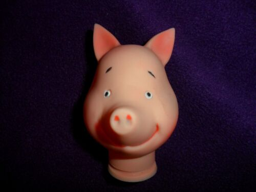 Vintage Look Like Piglet Vinyl Head