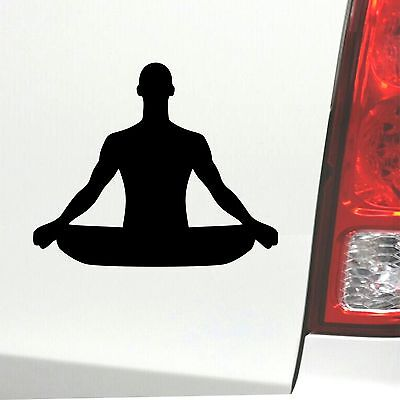 Yoga Aufkleber Meditationen Sticker