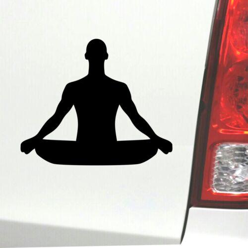 Yoga Meditationen Aufkleber Laptop Autoaufkleber