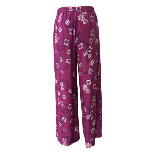 Con Fantasia Mauve Elastico Lampara Pennyblack Donna Vita Pantalone In Mod HfxYSPn