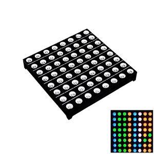 50x50mm 8 8 8x8 Full Colour RGB LED Dot Matrix Display Module Common Anode