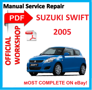 official workshop manual service repair for suzuki swift rs413 rs415 rh ebay com Suzuki Alto suzuki swift car manual book