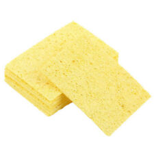 10pcs Electric Welding Soldering Iron Sponge Cleaning Cleaner Pads
