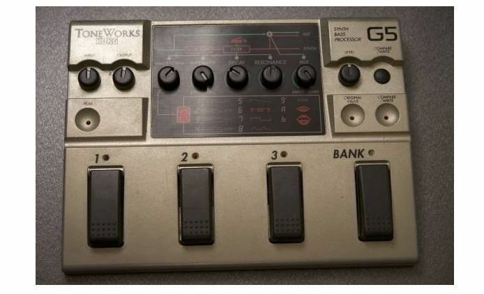 Korg G5 Synth Bass Processor Multi Effecter Bass Effects Pedal w Tracking F S (2