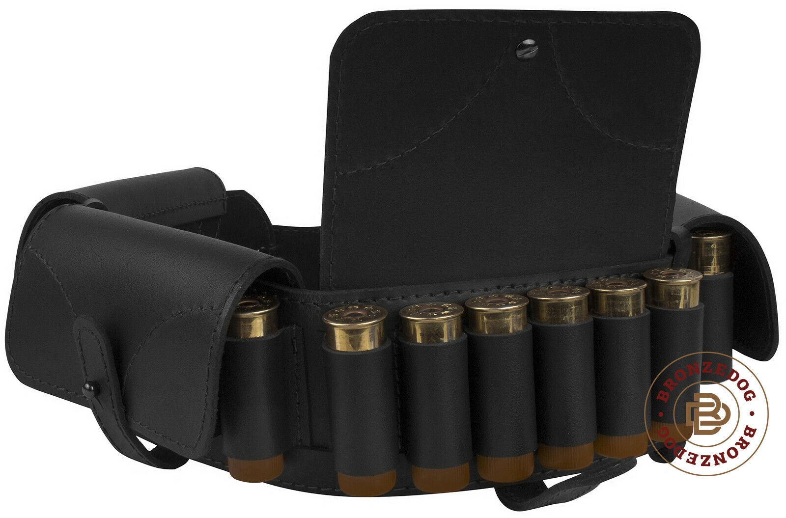 Leder Cartridge Belt Belt Belt Holder 24 x 12 Ga Shotgun Shell Bandolier Bandoleer 51d451