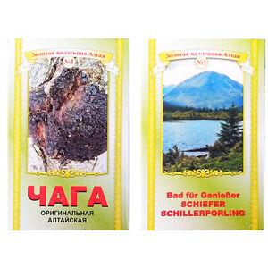 Chaga-Pilz-Birkenporling-50g-Altai-Vitalpilze-Bad-Kraeuter-Badekraeuter
