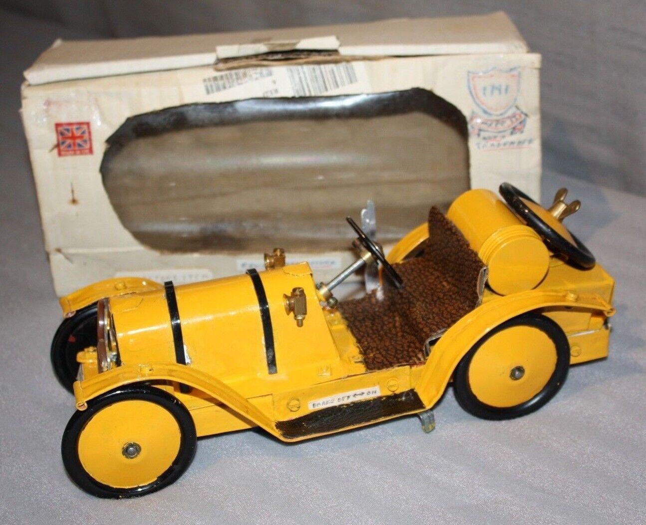 Vintage handmade scratch built Tin plate model Mercer Type 35 Series J 1913