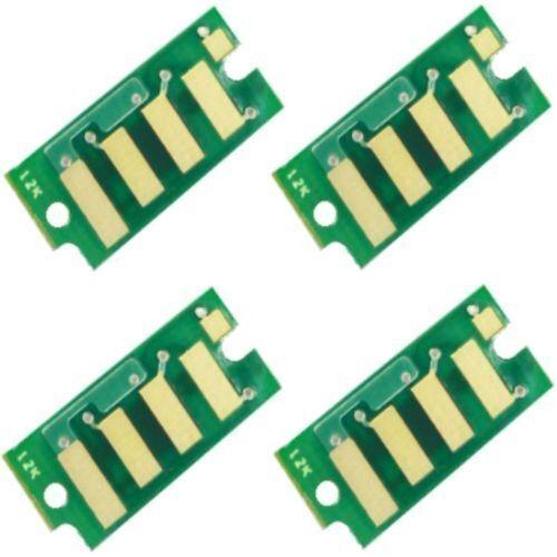 4 x Toner Chips for Dell Color Printer C2660dn DELL C2665dnf 593-BBBU //T//S //R