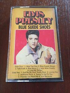 ELVIS-PRESLEY-THE-LEGEND-VOL-2-BLUE-SUEDE-SHOES-MC-K7-CASSETTE-TAPE-CINTA