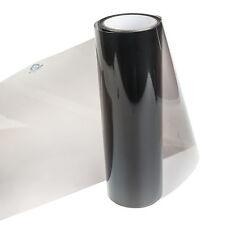 Smoked Glossy Black 30x100cm Car Headlight Fog Rear Tail Wrap Tint Vinyl Film