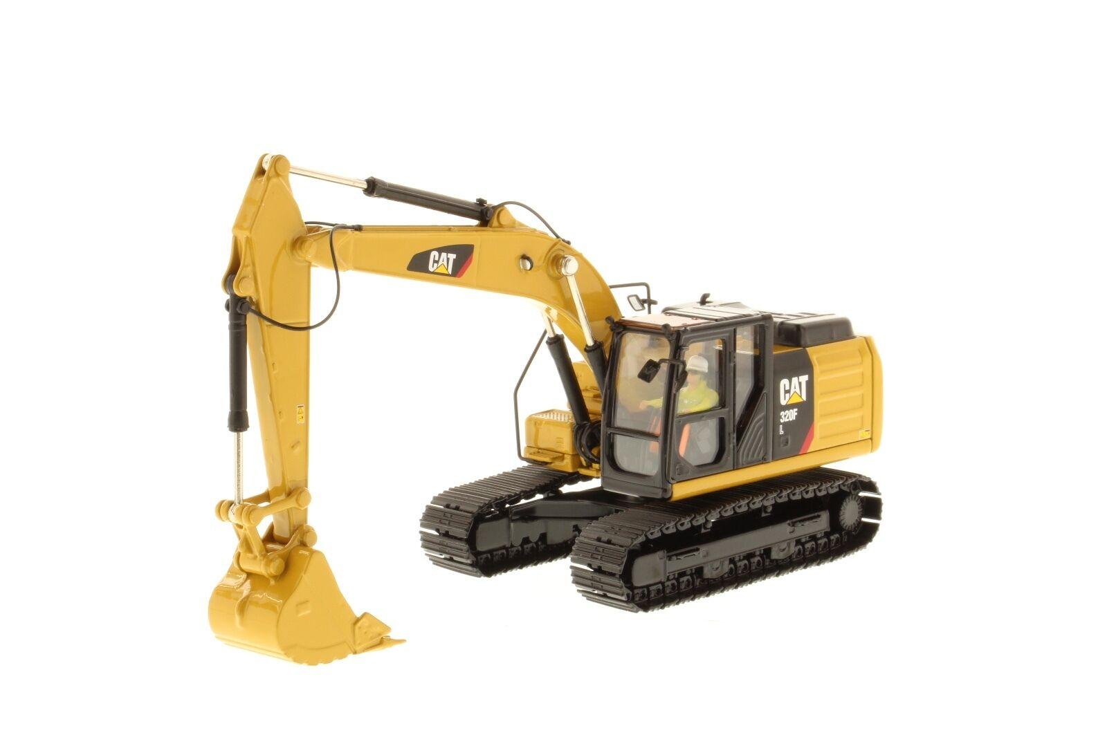 Caterpillar 1 50 scale Cat 320F Hydraulic Excavator 85931 Diecast Masters