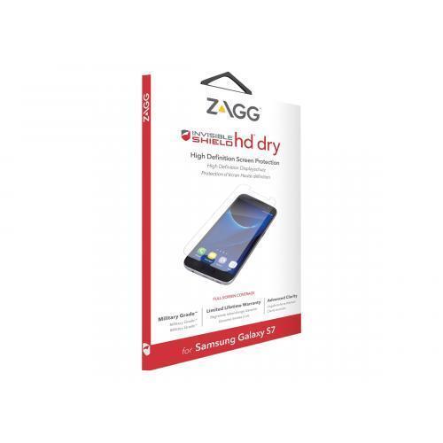 ZAGG Samsung Galaxy S7 Invisible Shield HD Dry Premium Screen Protector