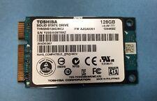 New THNSNB128GMCJ Toshiba Solid State Drive SATA ii 128GB 3.3v mSATA