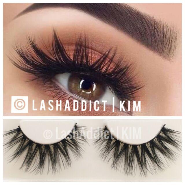 3 Pairs Mink Lashes Eyelashes Flutterly Wsp 3d Makeup Fur Ebay